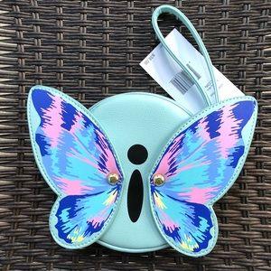 Handbags - NWT Betsey Johnson Butterfly coin purse/wristlet